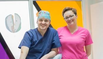 dr Krzysztof Dowgierd i Magdalena Kuczyńska